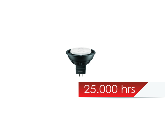 ΛΑΜΠΤΗΡΑΣ LED 12V 4W PHILIPS GU5.3 MR16 36D 4.000K